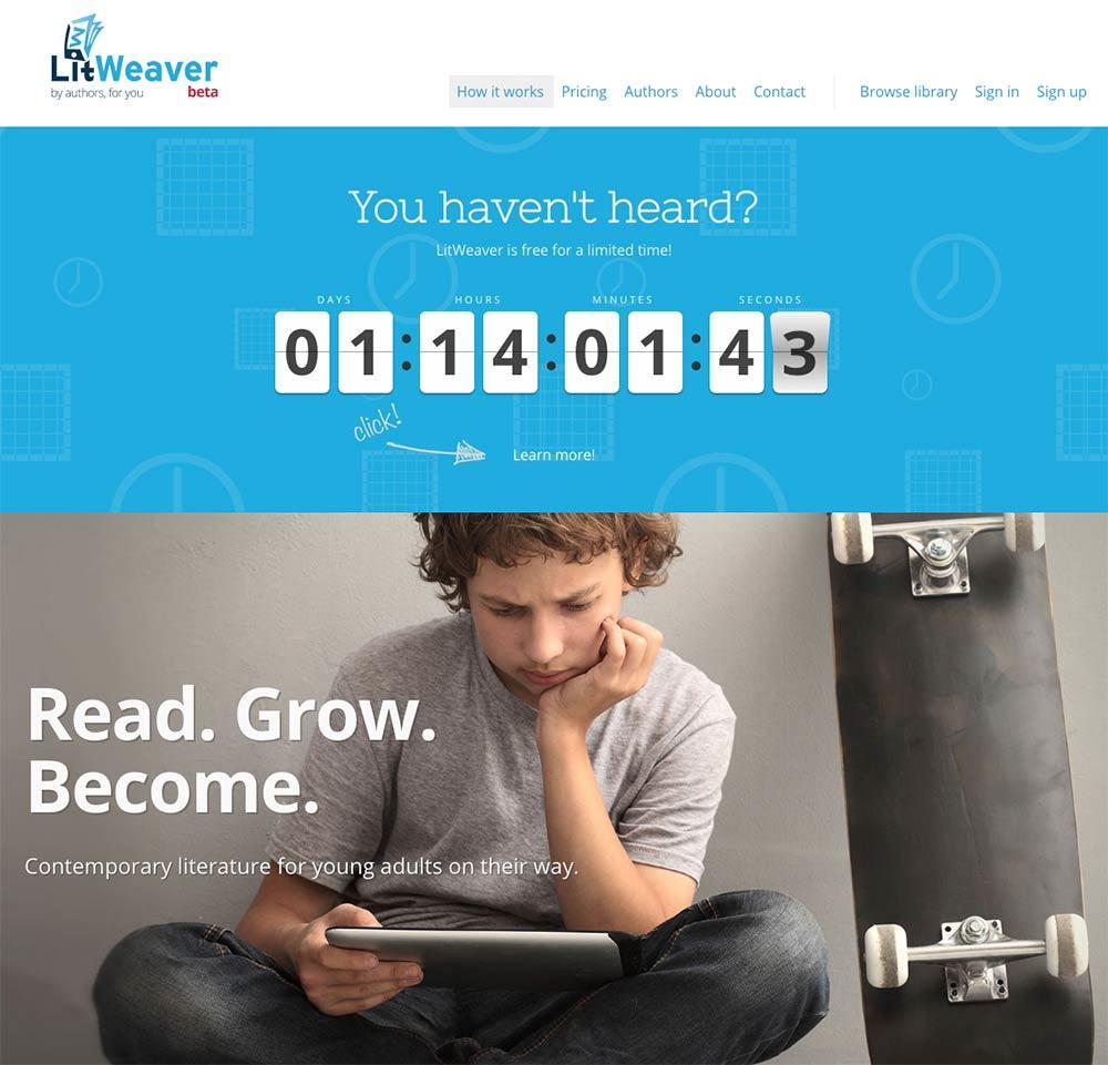 LitWeaver Case Study - Header